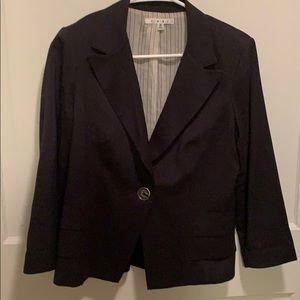 CAbi women's jacket navy blue, size 6